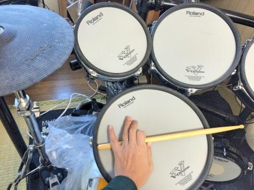 電子ドラム タムの大きさは3種類