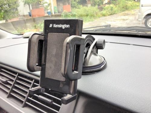 iPhoneを車にしっかり固定できるスマホスタンド!ケンジントン Dash Mount for iPhoneを使ってみた