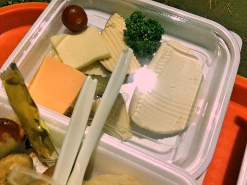 日比谷オクトーバーフェストのチーズ盛り合わせ