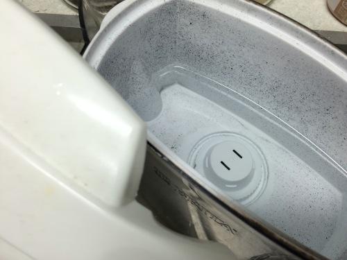 浄水ポットの中身