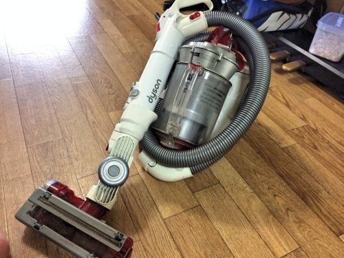 ダイソン(DYSON)掃除機 DC12 turboのヘッドだけを追加購入してみた