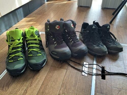 冨士登山のための靴選び