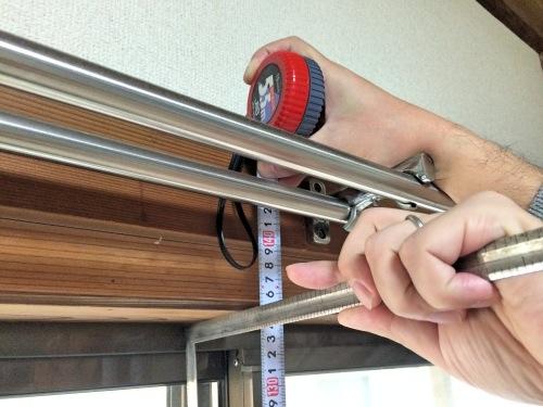 インプラス注文前に窓の高さと幅を計測