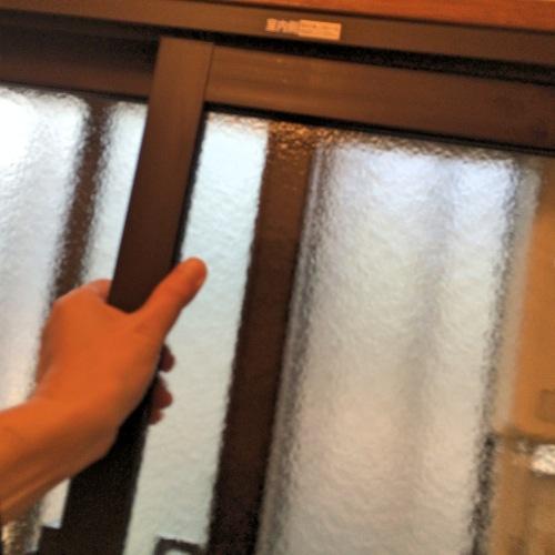 インプラス窓のはめ込み