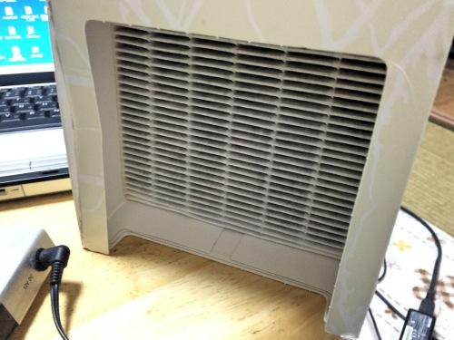 ブルーエアミニ空気清浄機のフィルター