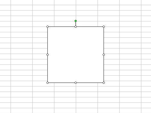 エクセルで正方形を描く方法