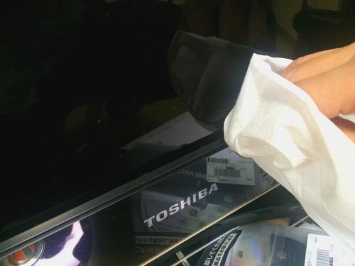 大画面液晶テレビの掃除方法