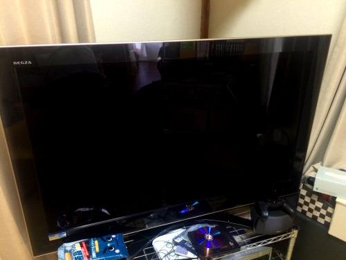 我が家のテレビは47インチ