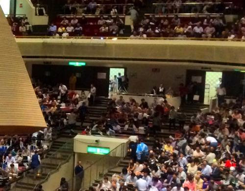 両国国技館大相撲観戦のボックス席