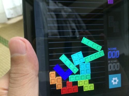 Androidゲームブツリスは不安定なところが面白い