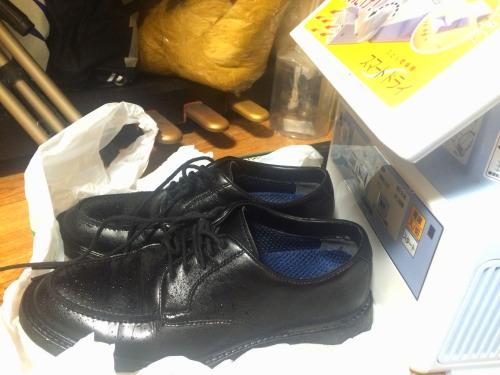 革靴の乾燥方法