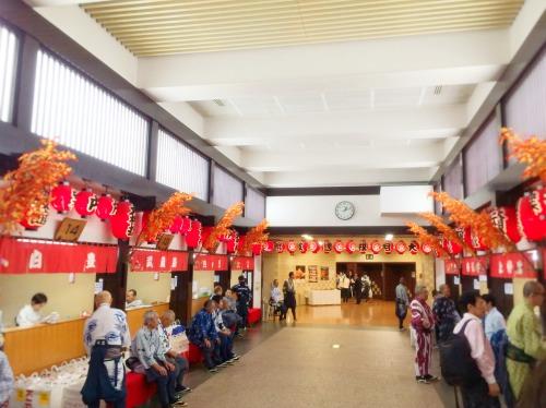 両国国技館のお茶屋さん入り口