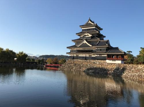 天守閣が現存する長野県松本市の黒いお城、国宝松本城 I went to the National Treasure