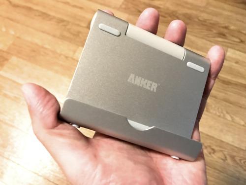 AnkerのスマホスタンドはiPhoneからiPadまでカバーできる
