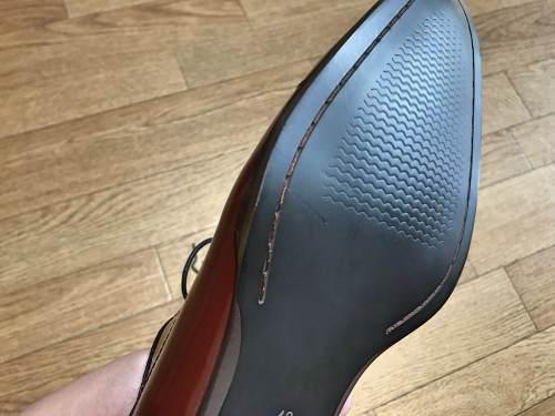 楽天市場のFido(フィード)で上質の革靴を買ってみた!メイドインジャパンでも安く買える通販はお得だったの靴底