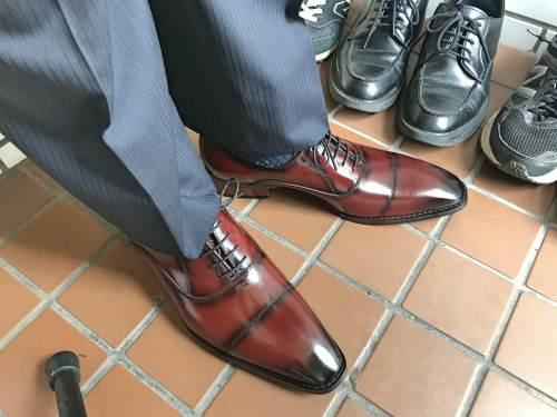 Fido(フィード)の革靴のフィット感は最高だった