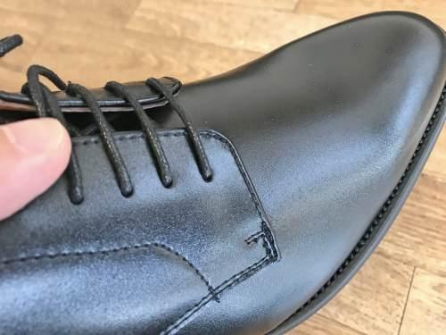 Fidoの6800円革靴はつや消しでも上質感に溢れる