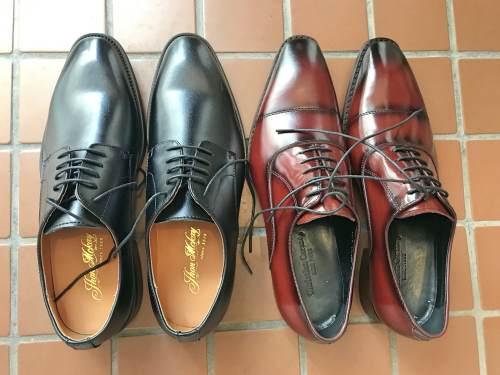 同じ楽天市場のFidoで買った靴と比較した