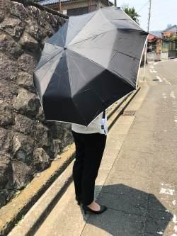 折りたたみ傘なのに大きいサイズ