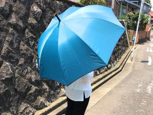 折りたたみ傘だけでなく長傘もある