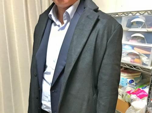 8千円で買えるビジネスコート!ウール混 チェスターコートを着てみた