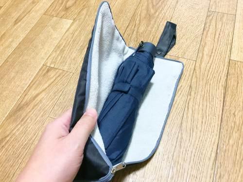 吸水性に優れた傘袋