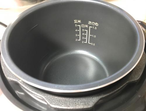 電気圧力鍋の内釜